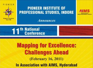 11th National Conference on Mapping For Excellence & Challenges Ahead
