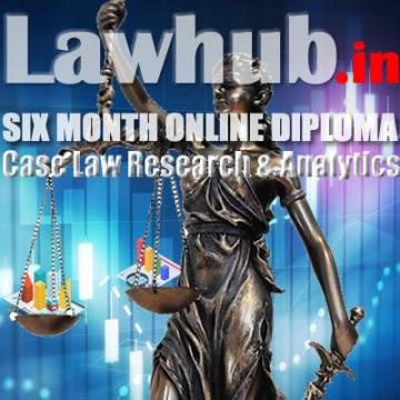Diploma in Case Law Research & Analytics
